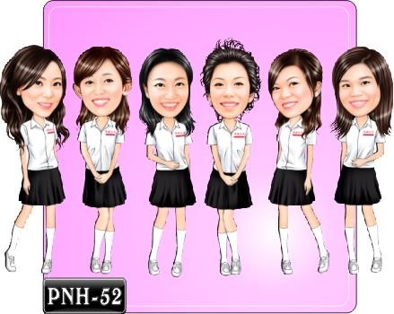 Q版多人漫畫 PNH-52